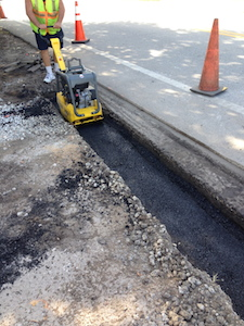 Curbs & Water Diverting
