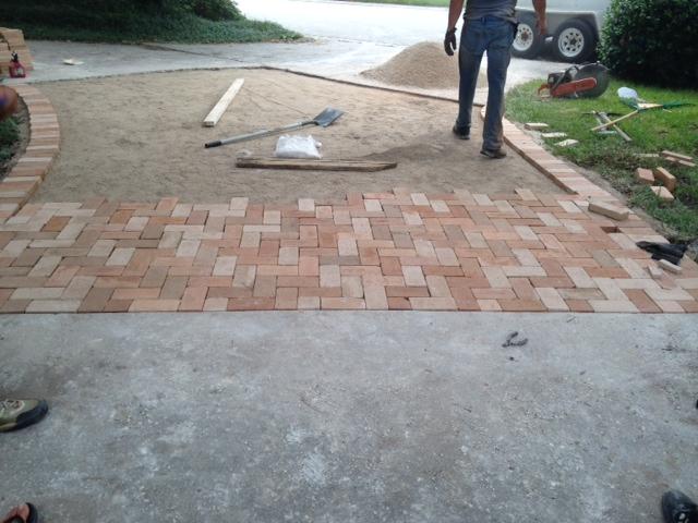 Driveway Brick Paving