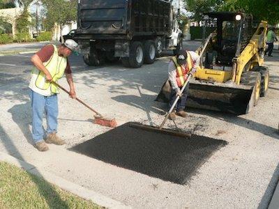 Frost Paving - Pothole Repair